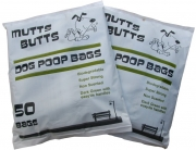 Mutts Butts | Retail Bak | Super Strong Dog Poop Bags